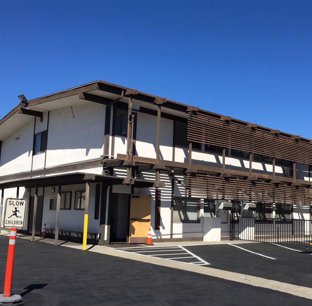 ガーデナ仏教会付属日本語学園 校舎